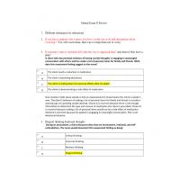 NR 320 Exam # 2 for Best Grades