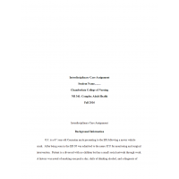NR 341 Week 5 RUA Assignment; Interdisciplinary Care Assignment