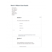 NR 507 Week 4 Midterm (Exam 9) Questions & Answers: 60