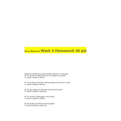 MATH 399N Week 4 Homework Solutions: → Spring 2017