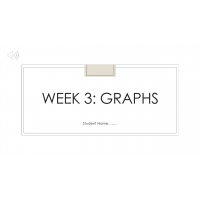 MATH 114N Week 3 Assignment; Solving Systems by Graphing: Fall 2017
