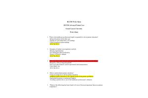 HLT 306V Topic 4 Quiz (Version 2): Spring 2020