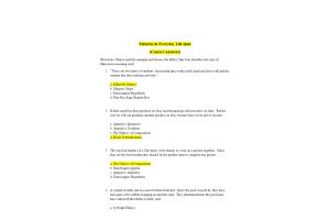 PHI 105 Topic 4 Quiz; Fallacies in Everyday Life Quiz (Version 1): Spring 2020
