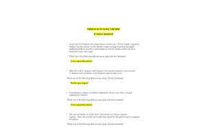 PHI 105 Topic 4 Quiz; Fallacies in Everyday Life Quiz (Version 2): Spring 2020