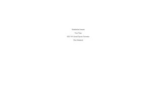 HLT 540 Week 8 Assignment; Stakeholder Scenario: Spring 2020