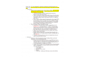 HLT 308V Topic 2 Assignment; Educational Program on Risk Management - Part One; Outline of Topic  (Version 1): Spring 2020