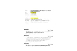 NURS-6521C-1, NURS-6521D-1, NURS-6521N-1 Exam - Week 11 Final: 100 out of 100 Points (Feb 2020)