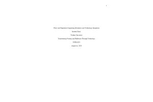 NURS 6051 Module 6 Assignment; Policy-Regulation Fact Sheet: Year 2020
