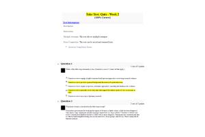 NURS 6052 Module 2 (Weeks 2-3) Quiz; Is It Quantitative, Qualitative, or Mixed Methods (Term 2020)