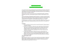 NURS 6521 Week 1 Discussion; Pharmacokinetics and Pharmacodynamics (Oct Term)
