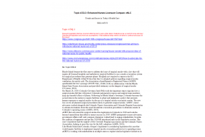 NRS 440VN Topic 4 DQ 2; Topic 4 DQ 2 Enhanced Nurses Licensure Compact: Summer 2021