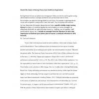 NR 501 Week 6 DQ Impact of Nursing Theory Upon Healthcare Organization → Fall 2017