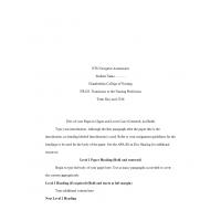 NR 103 Week 3 Assignment; Nursing Profession ETS Assessment