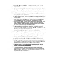 BIOS 256 Final Exam (Essays Q&A)