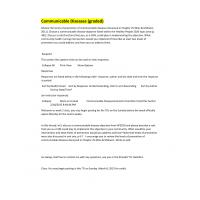 NR 443 Week 2 DQ 2 Communicable Diseases